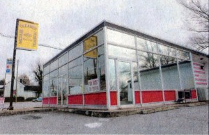 How the old KK looked at the time this column was published. The building there has now long since been razed.