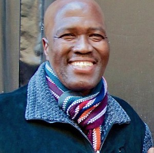 Albert Mazibuko of Ladysmith Black Mambazo.